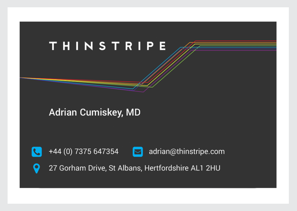Thinstripe Business Card